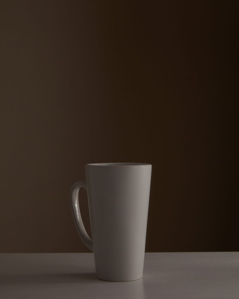 Studio Coffee Mug Product Photography