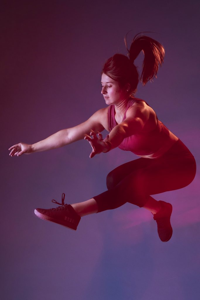 Studio Long Exposure Fitness and Sports Photography