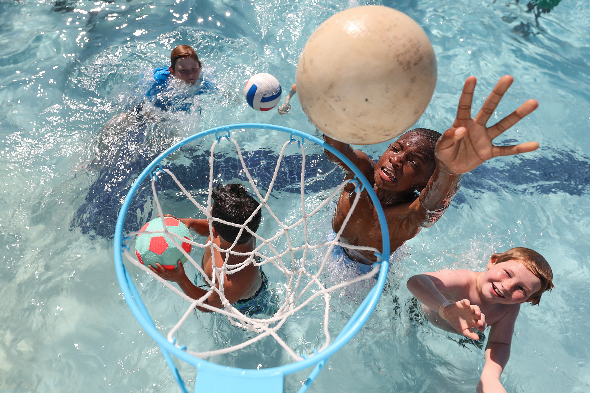 Kids Travel Destination Photography Camp Kindred Milwaukee Swimming Basketball