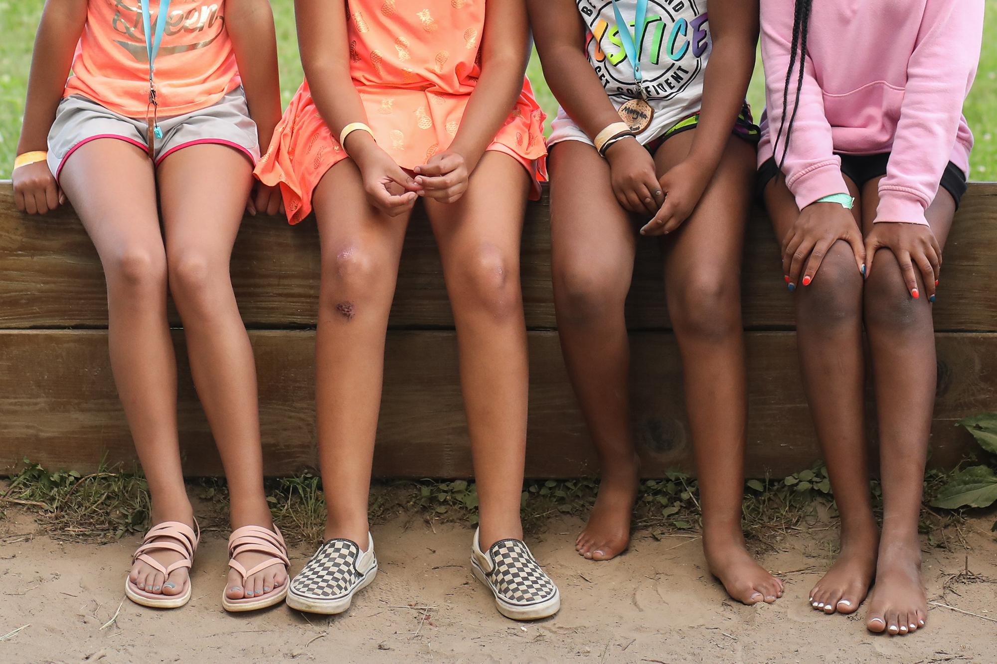 Kids Photography Girls Camp Kindred Milwaukee