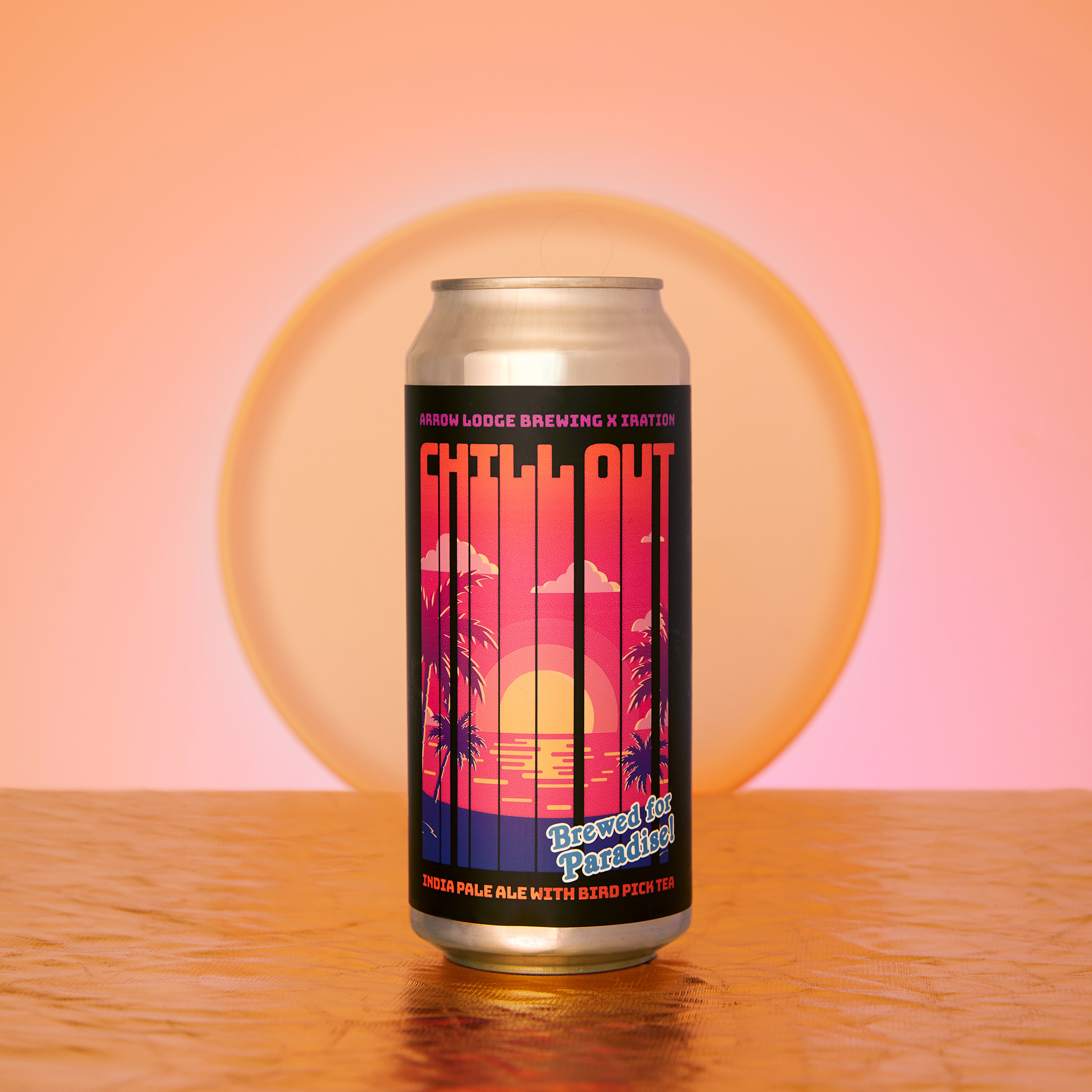 Studio IPA Beer Product Photography