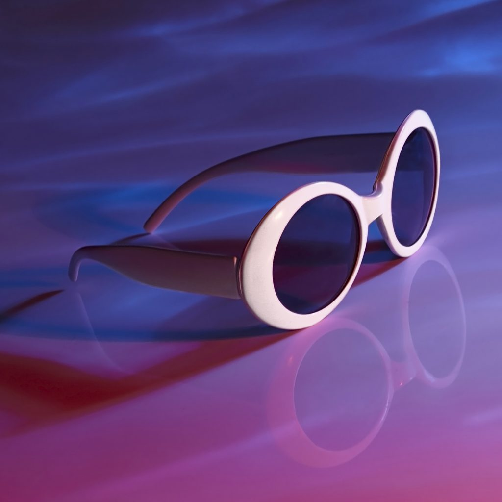 Studio White Sunglasses Product Photography