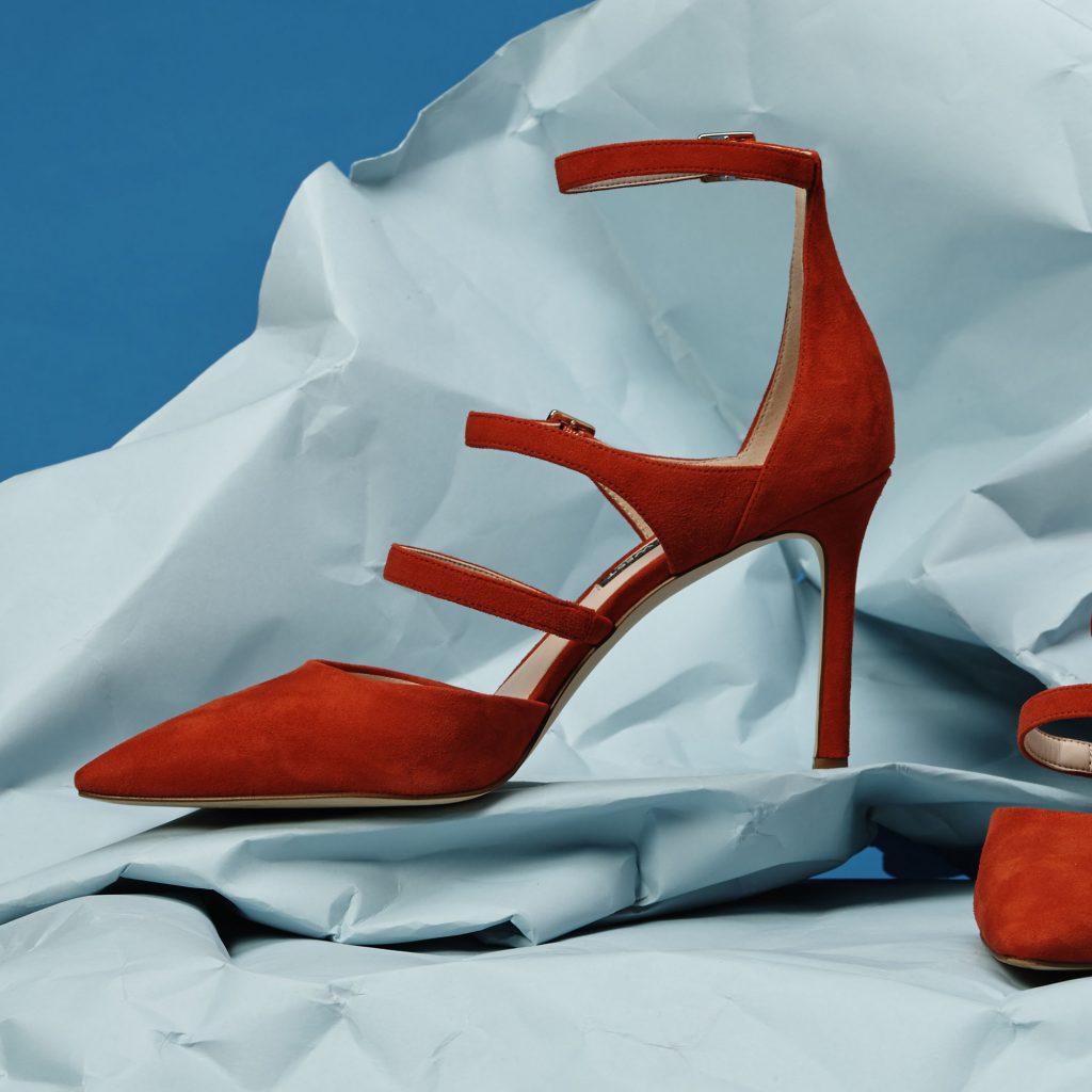 Studio Red Heel Shoe Product Photography