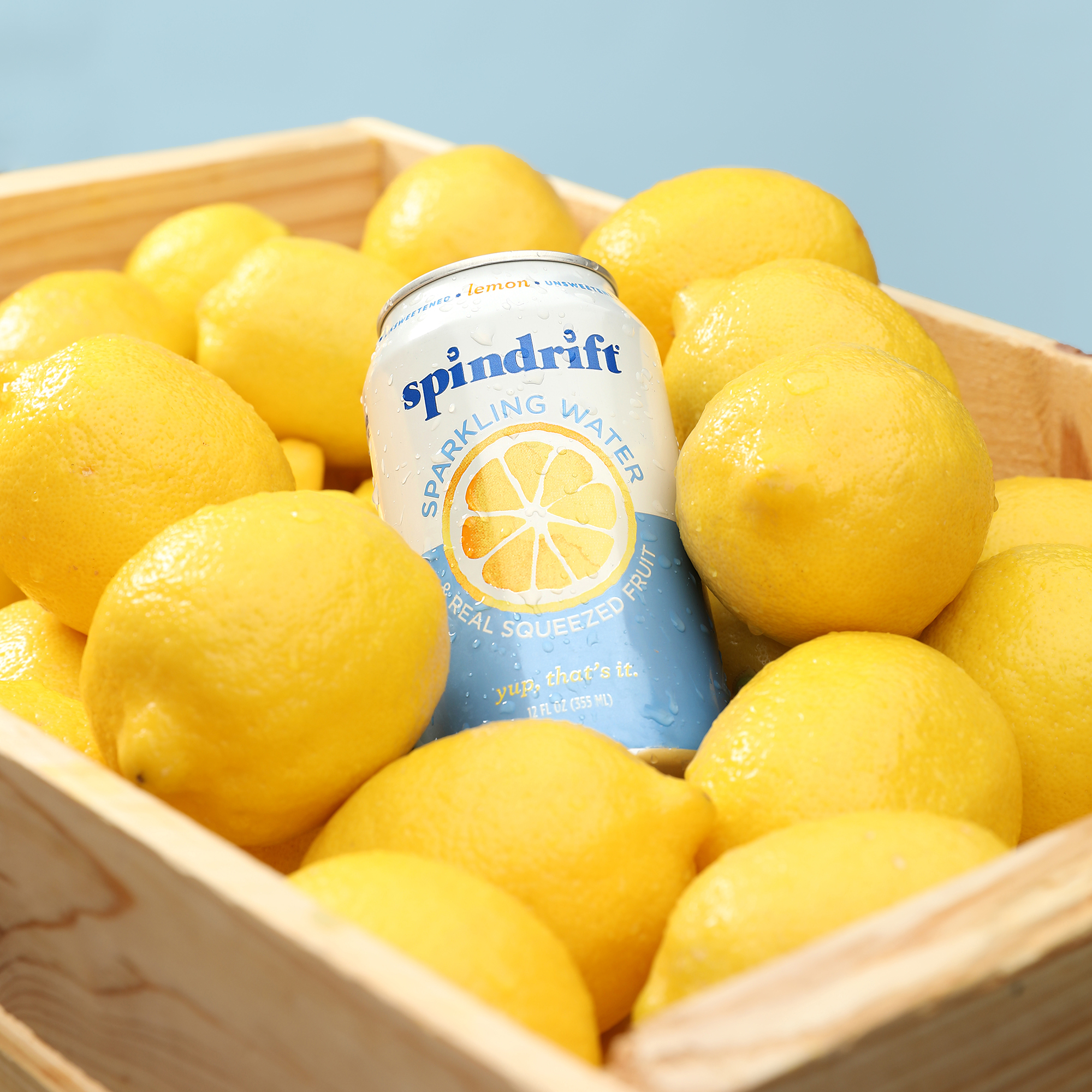 Studio Product Photography Spindrift Sparkling Water Drink