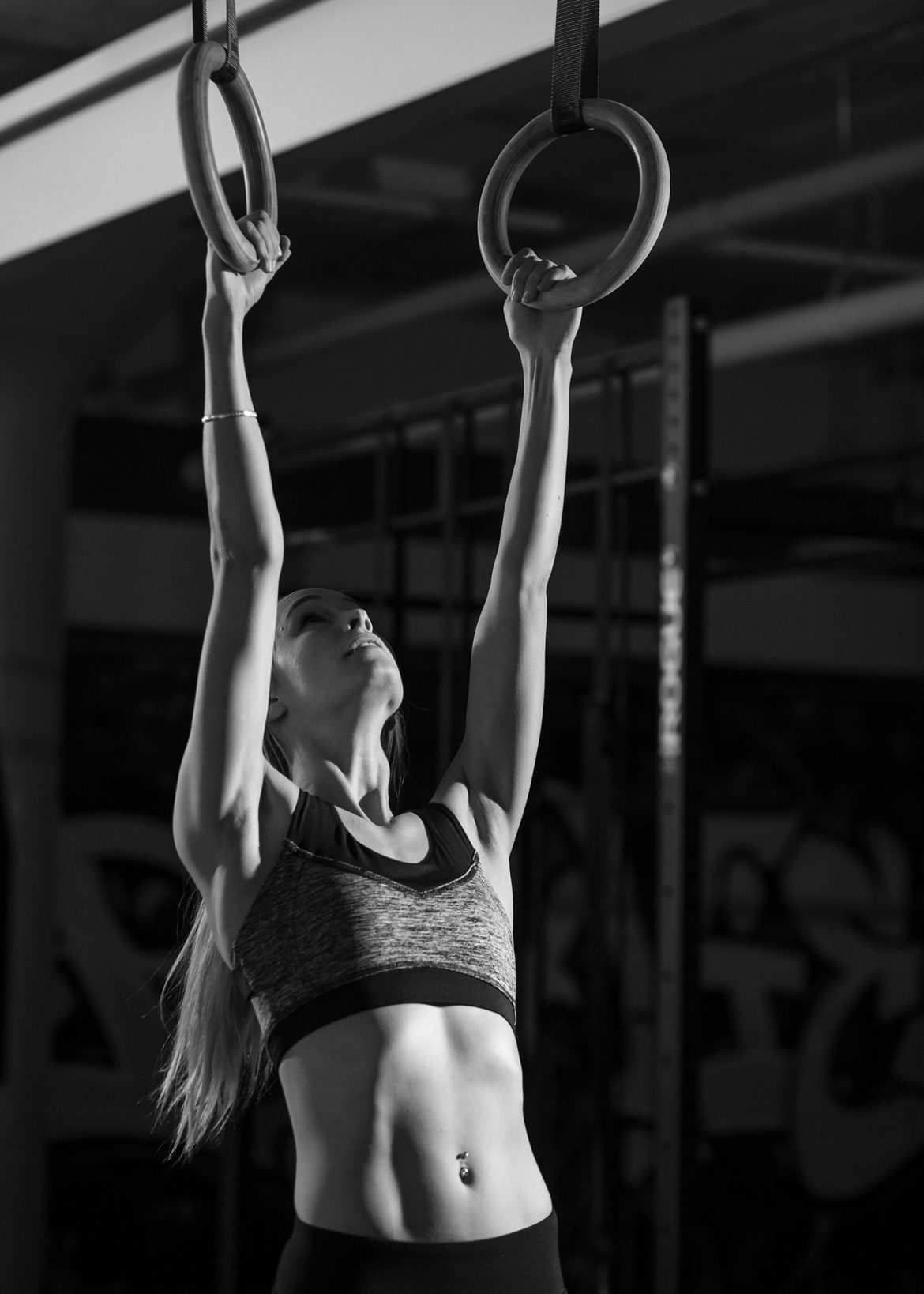 Fitness Rings Sports Photography