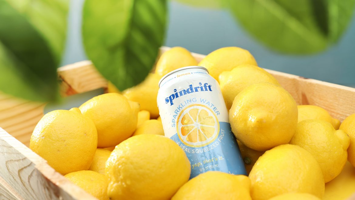 Spindrift Food and Drink Product Photography