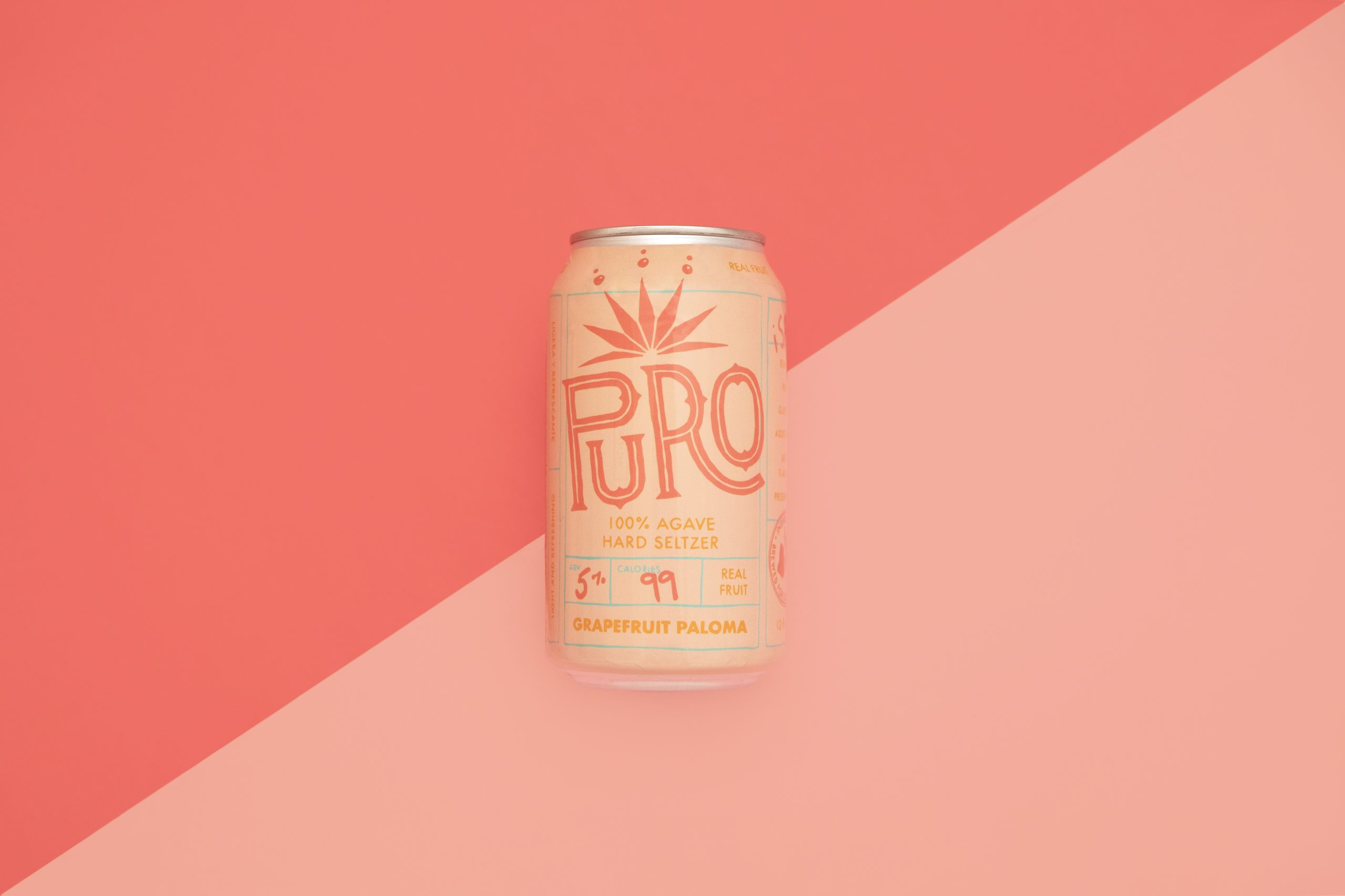 Dry County Brewing Puro Paloma Agave Hard Seltzer